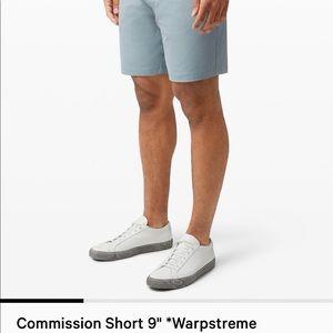 """Lululemon Commission Shorts 9"""""""